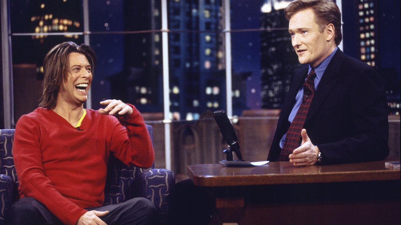 David Bowie and Conan O'Brien - H 2016