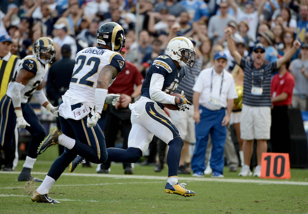 Rams vs Chargers H 2016