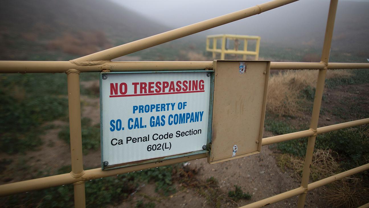 Porter Ranch Gas leak 2 - H 2016