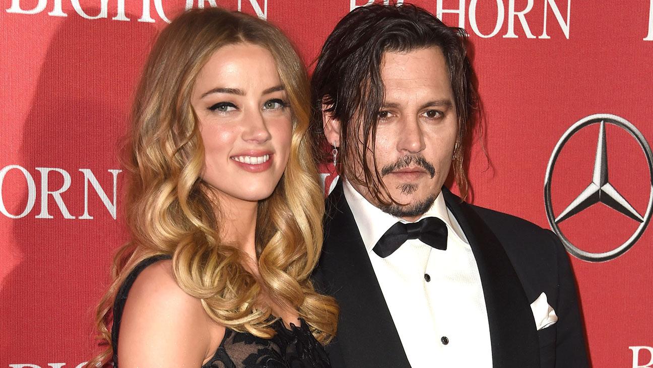 Amber Heard and Johnny Depp 27th Palm Springs International Film Festival Awards Gala - H 2016