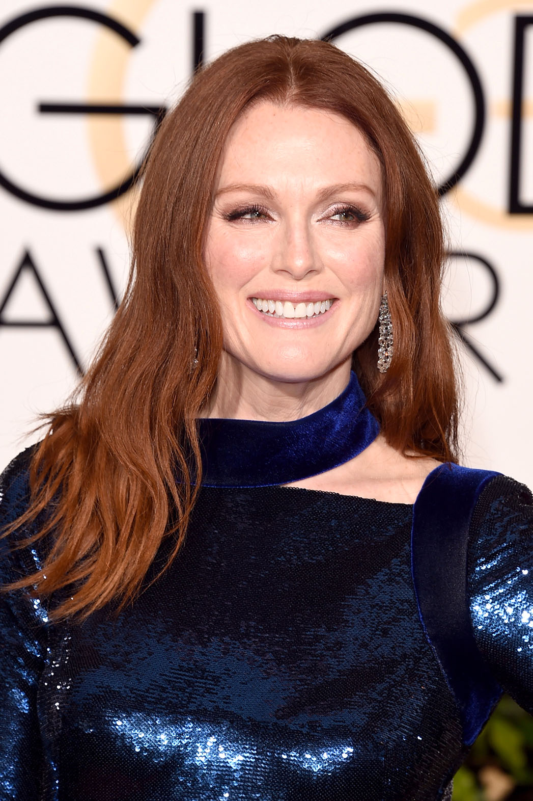 Julianne Moore attends the 73rd Annual Golden Globe Awards - P 2016