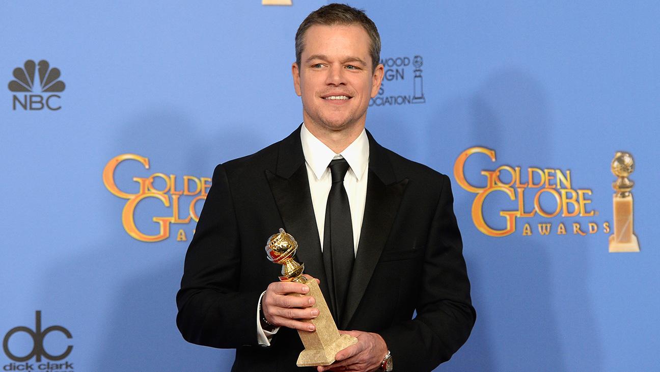 Matt Damon with award - H 2016