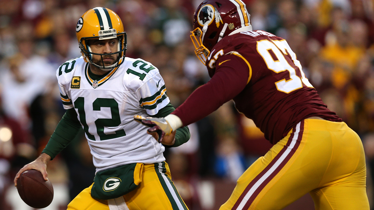 Washington Redskins and Green Bay Packers - H 2016