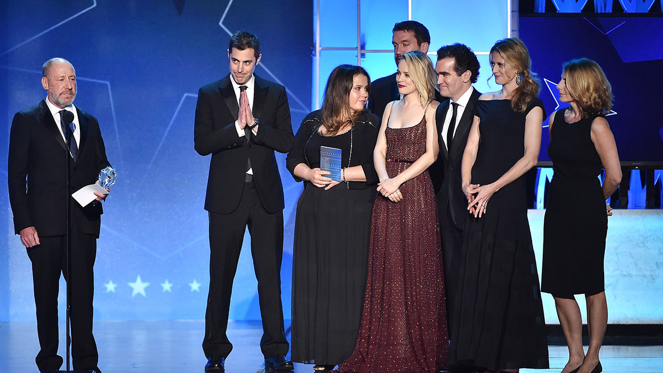 Best Picture award 'Spotlight' onstage during the 21st Annual Critics' Choice Awards - h 2016