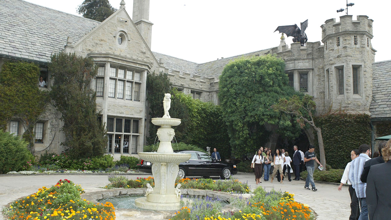 Playboy Mansion in Beverly Hills - H 2016