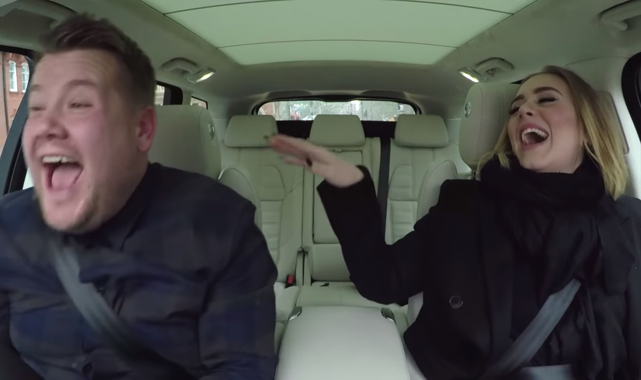 James Corden Adele Carpool Karaoke H 2015