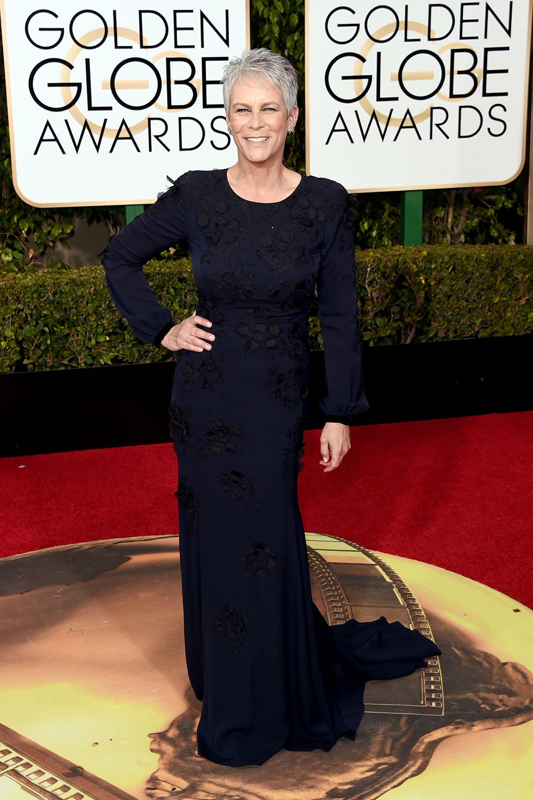 Jamie Lee Curtis Golden Globes - P 2016