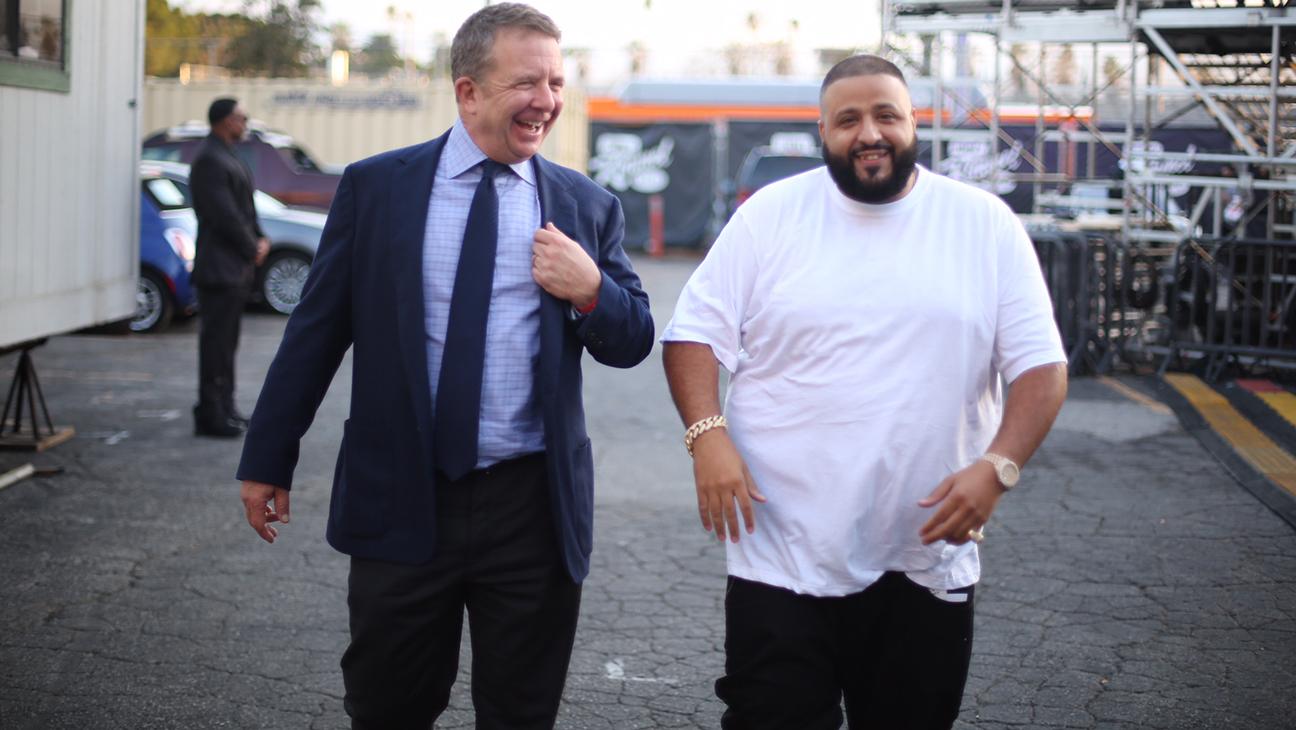 DJ Khaled with UTA CEO Jeremy Zimmer - H 2016