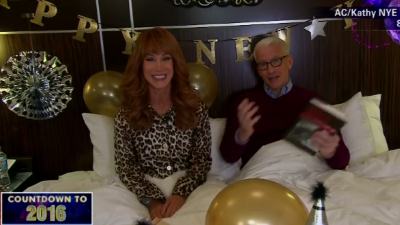 Anderson Cooper Kathy Griffin CNN NYE - H 2015