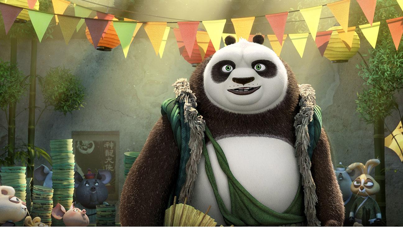 Kung Fu Panda 3 - Still 1 Panda Li  - H 2016