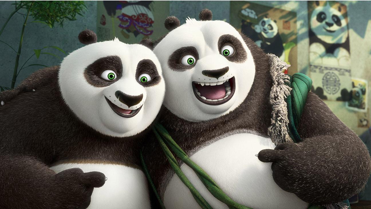Kung Fu Panda 3 - Still 2 - Po and his father Li - H 2016