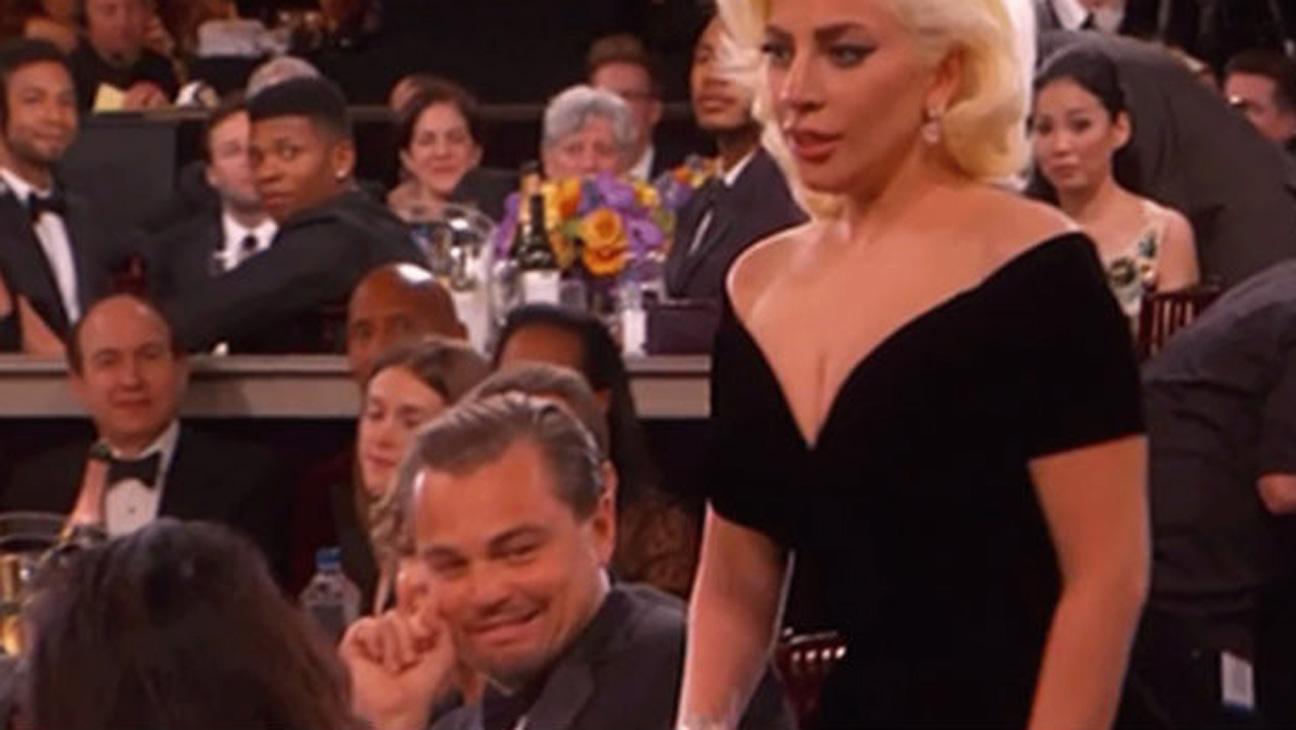 Leonardo DiCaprio and Lady Gaga - H 2016