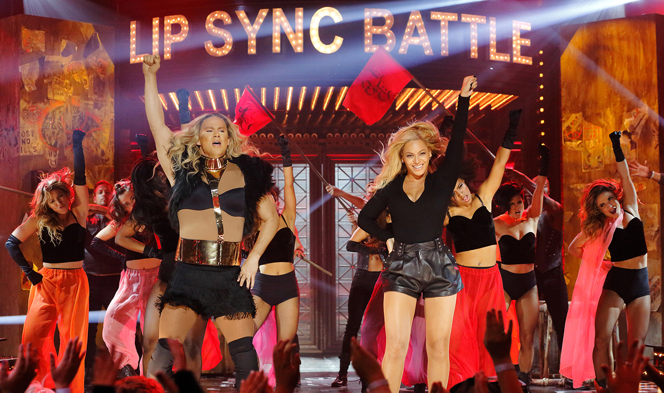 Lip Sync Battle Channing Tatum Beyonce H 2015