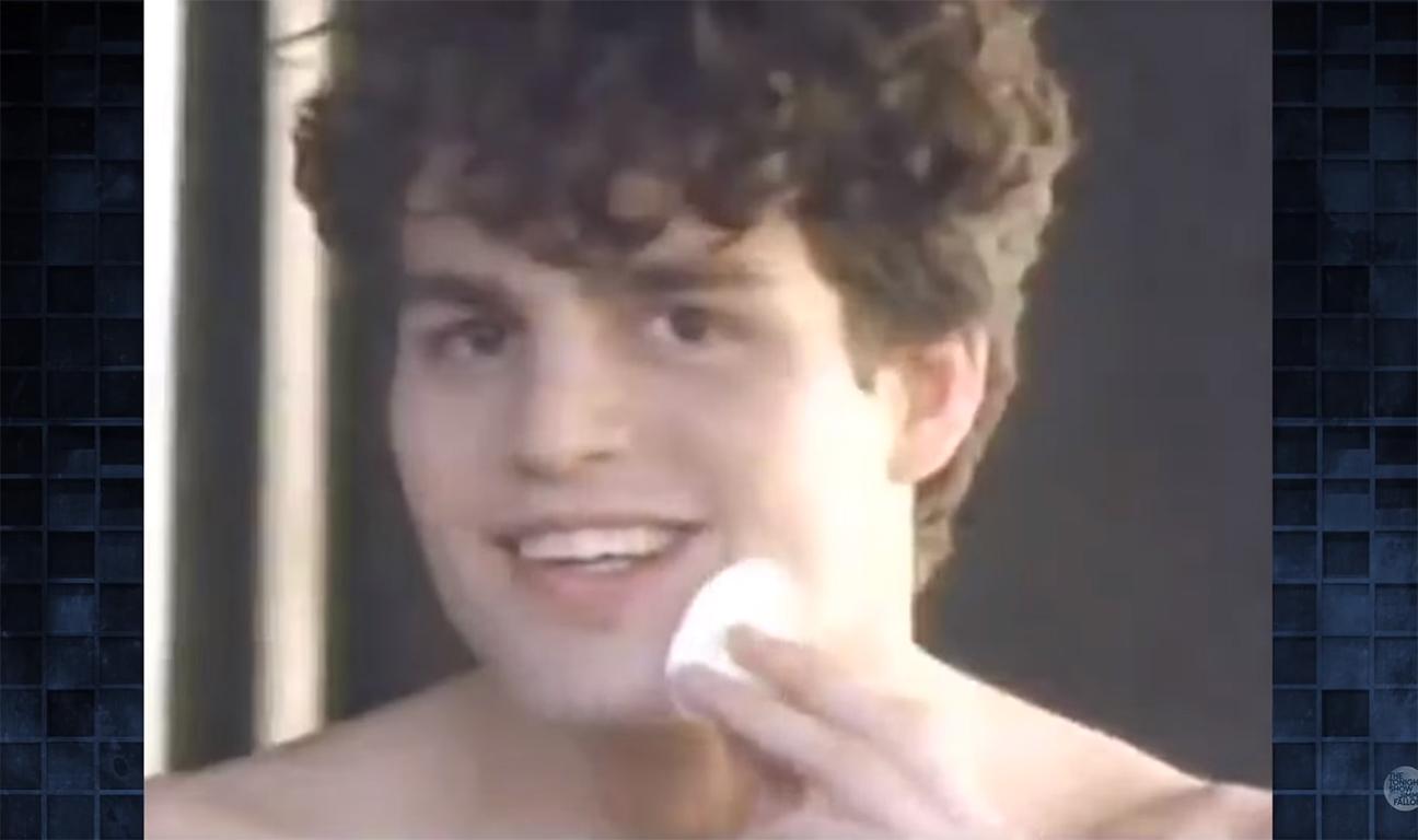 Mark Ruffalo 1989 Clearasil Ad H 2015