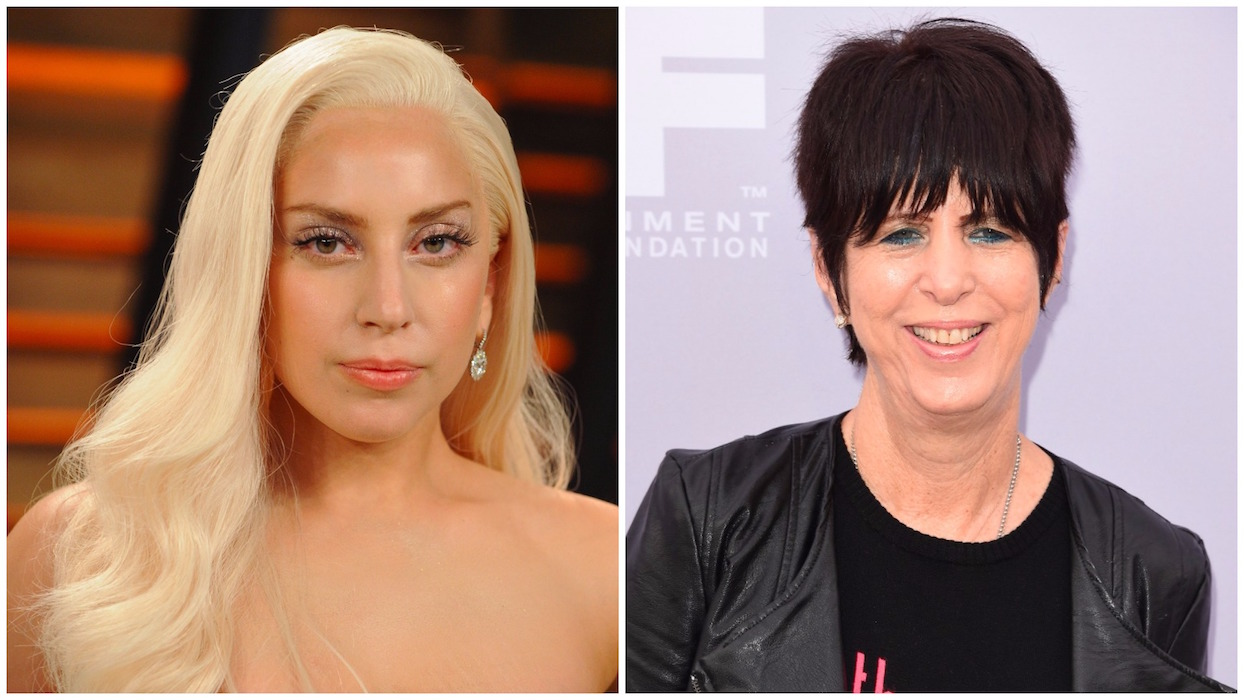 Lady Gaga Diane Warren Split H 2016