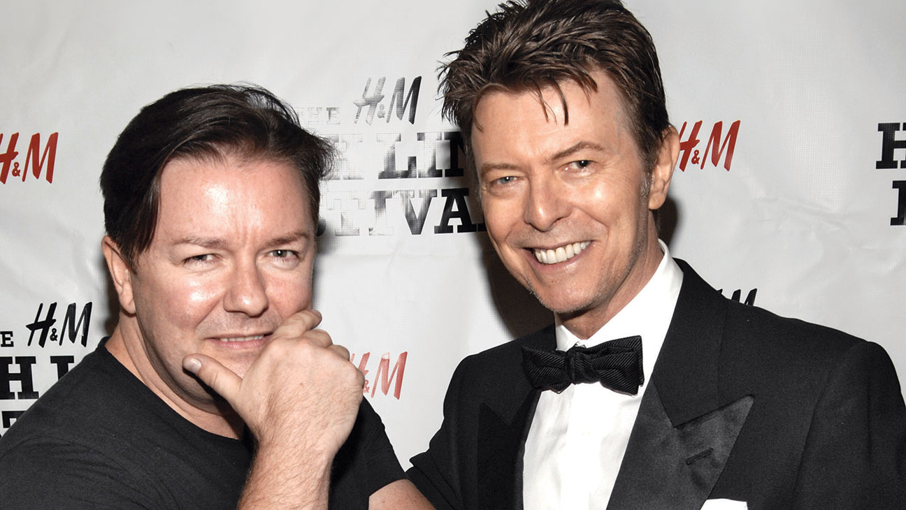 Ricky Gervais David Bowie - H 2016