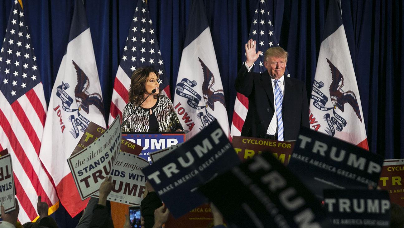Sarah Palin Trump Rally - H 2016