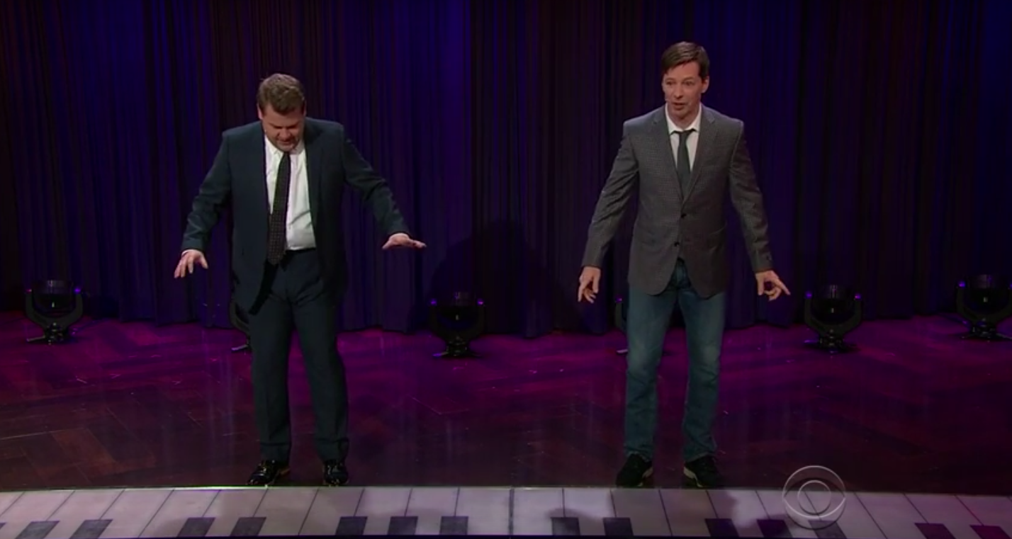 James Corden and Sean Hayes - H 2016