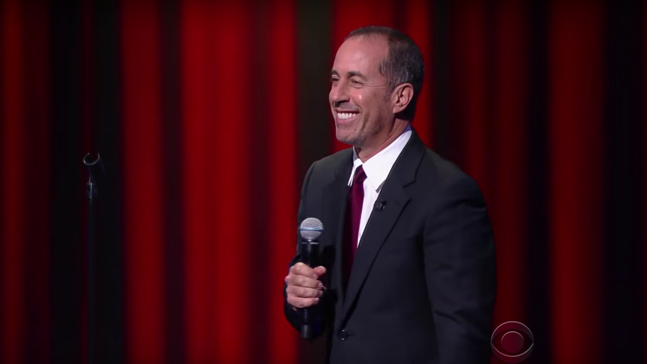 Jerry Seinfeld on Late Show — H 2016