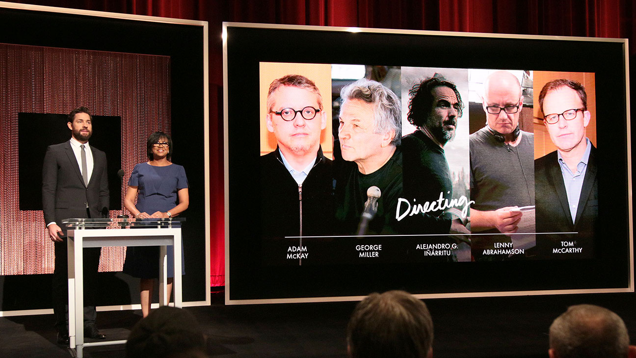 88th Annual Oscars Nominations Announcement Directing - H 2016