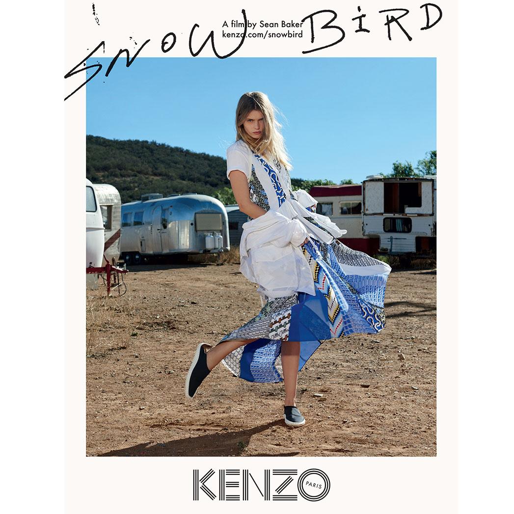 KENZO CAMPAIGN SNOWBIRD - SQ 2016