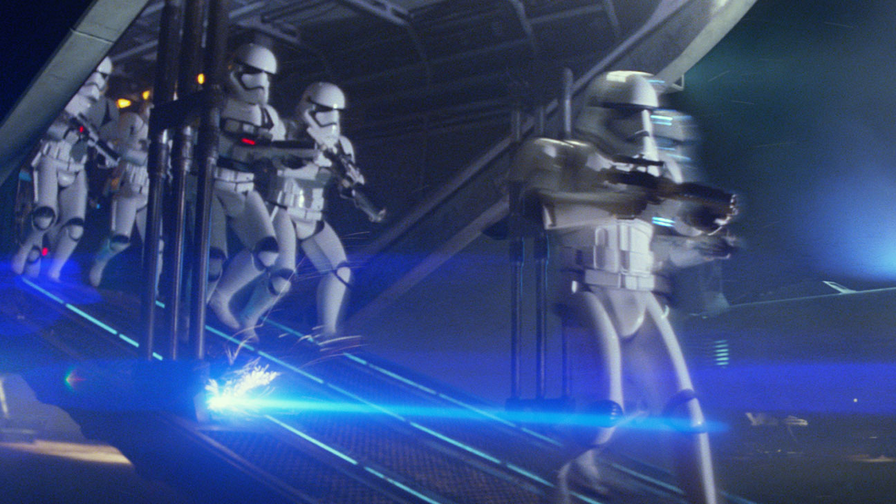 Star Wars: The Force Awakens Still 24 - Stormtroopers First Order - H 2015