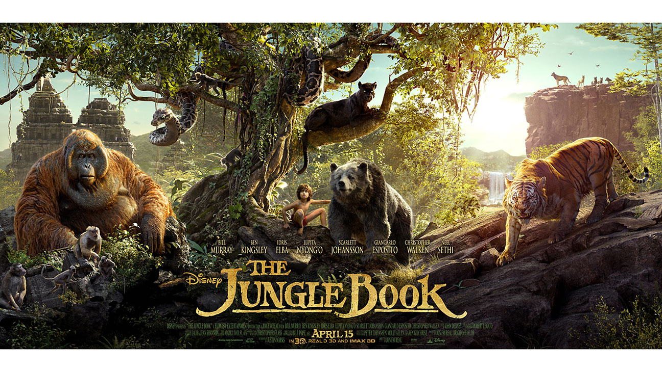 The Jungle Book Poster Key Art - H 2016