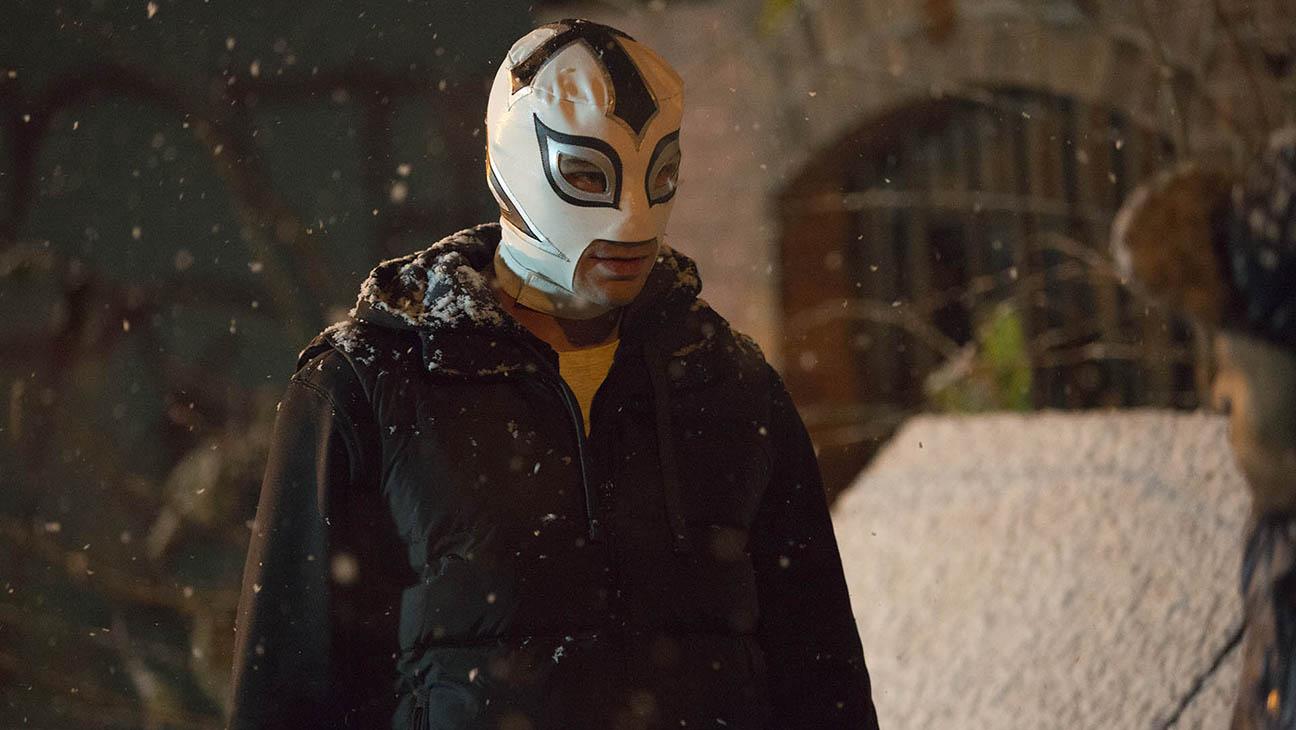 The Masked Saint Still - H 2016