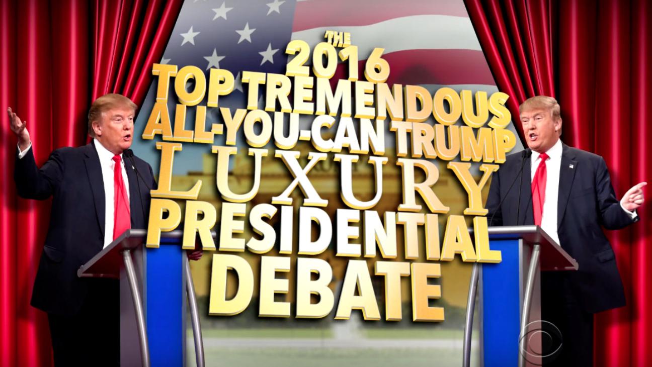 Donald Trump vs Donald Trump Debate — H 2016