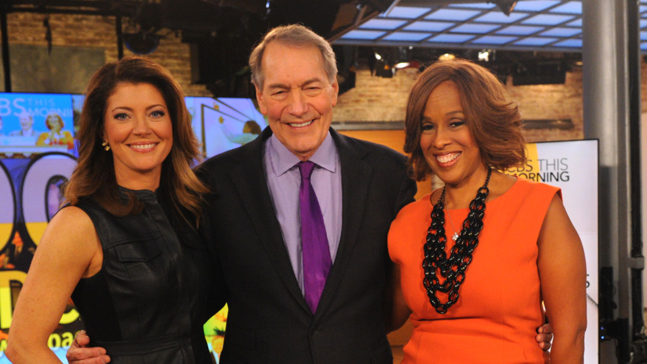 Norah O'Donnell, Charlie Rose and Gayle King - H 2016