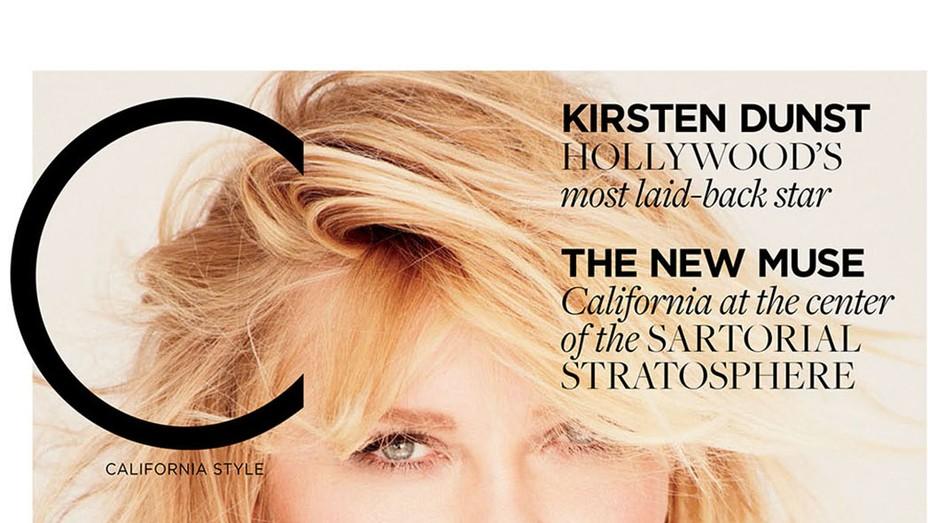Kirsten Dunst C Mag Cover - P 2016