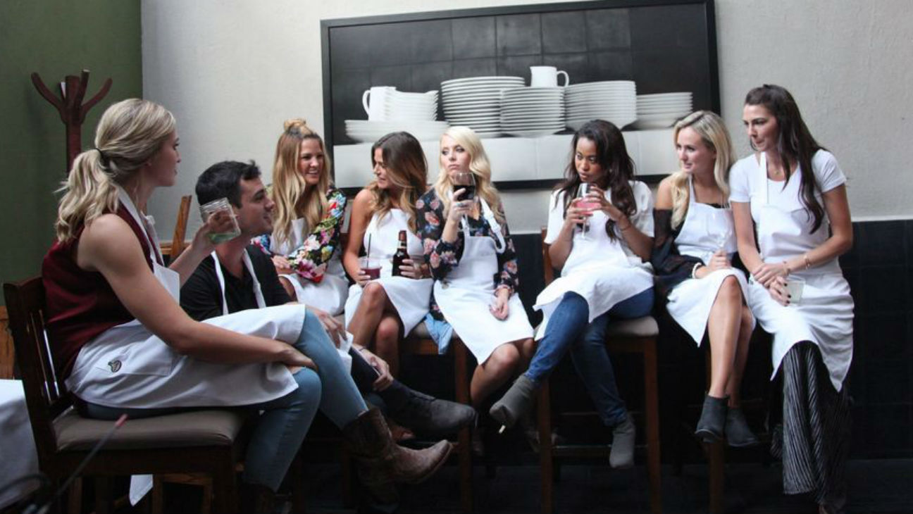 Bachelor Ben and contestants - H