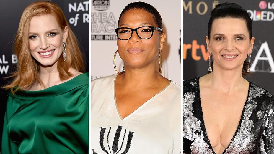 Jessica Chastain, Queen Latifah and Juliette Binoche  - H 2016