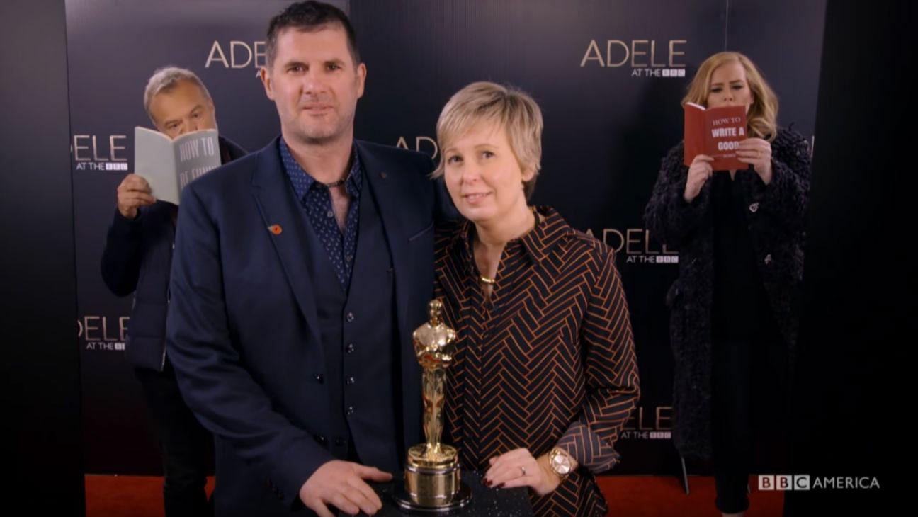 Adele Photobomb H - 2016