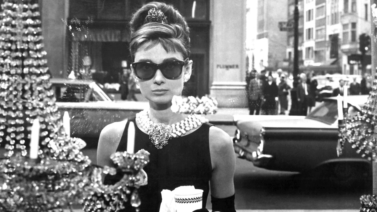 Crazy About Tiffany's still - Audrey Hepburn 1961 on the set of Breakfast at Tiffany's - H 2016