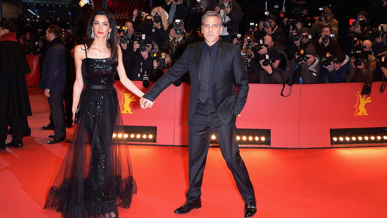George Amal Clooney Berlin Film Festival - H 2016