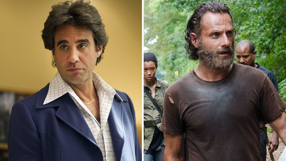 Bobby Cannavale in HBO's Vinyl and Andrew Lincoln in The Walking Dead Split - H 2016