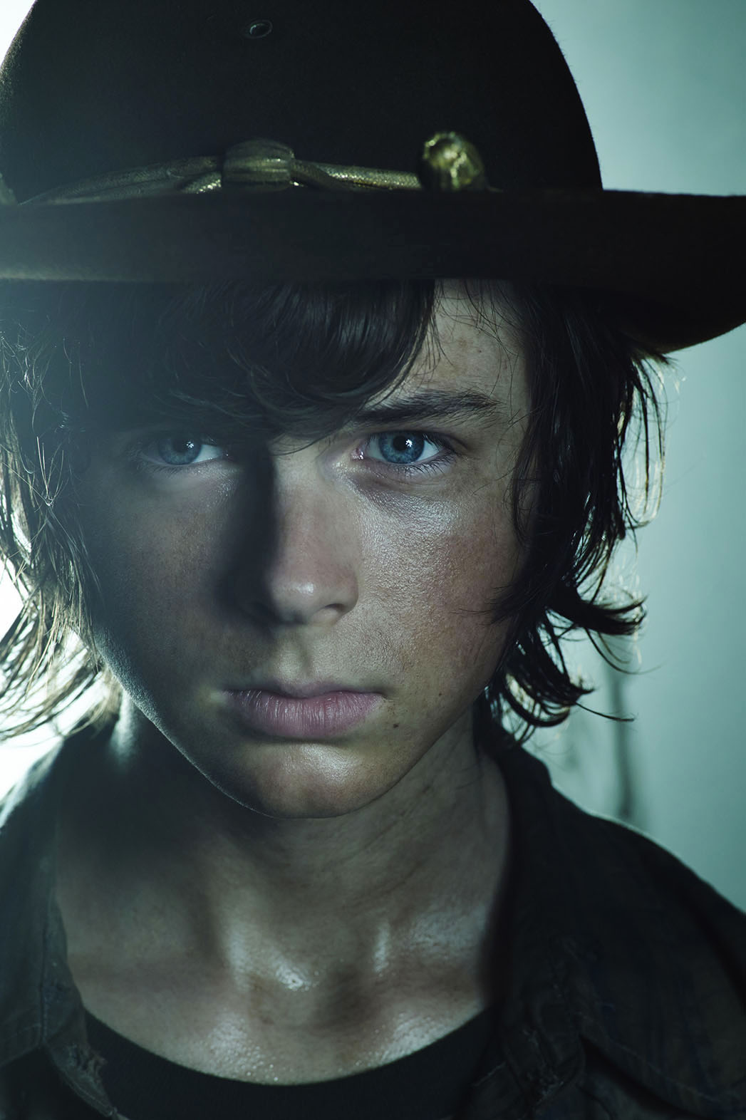 The Walking Dead-Chandler Riggs as Carl Grimes - P 2016