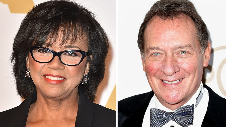 Cheryl Boone Isaacs and Gary Lucchesi Split - H 2016