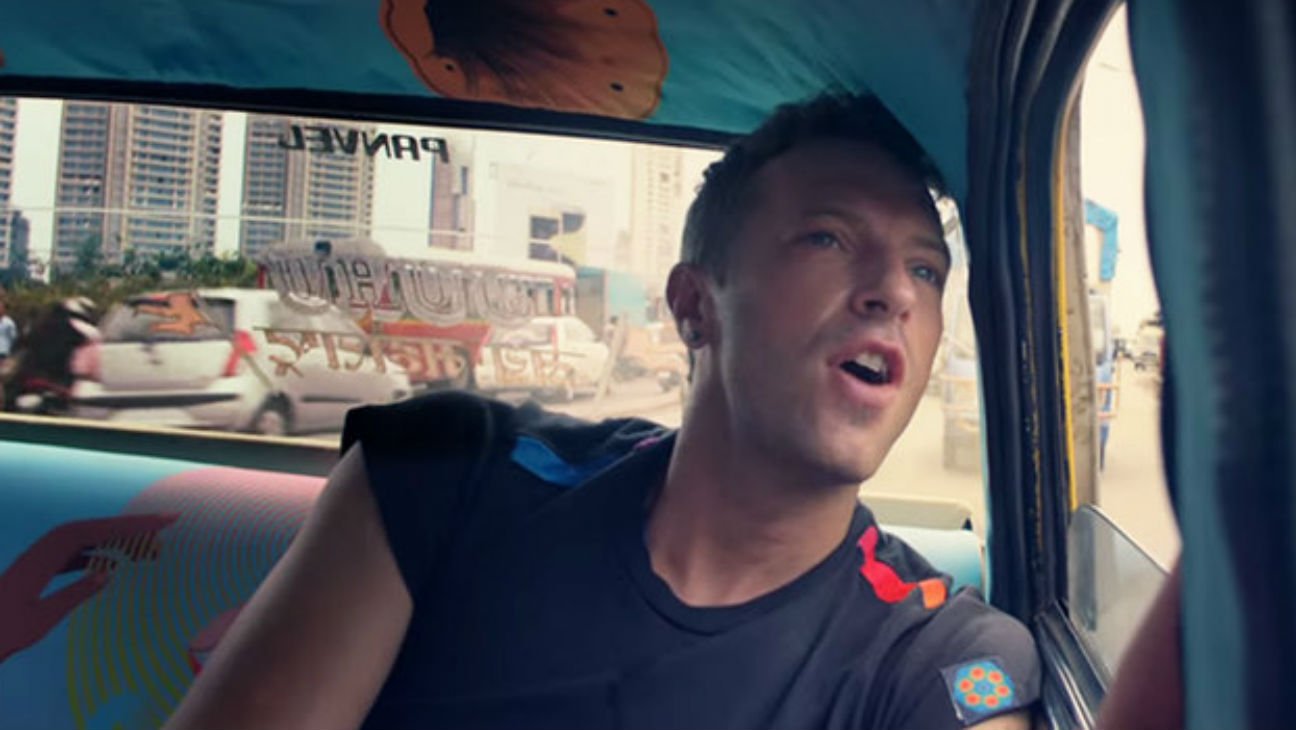 Coldplay 'Hymn for the Weekend' Video Still - H 2016
