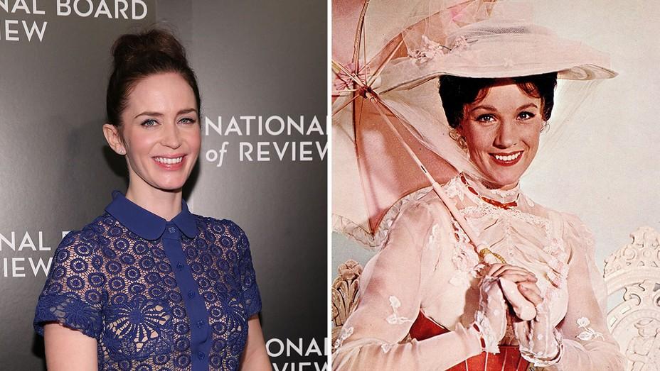 Emily Blunt Mary Poppins Split - H 2016