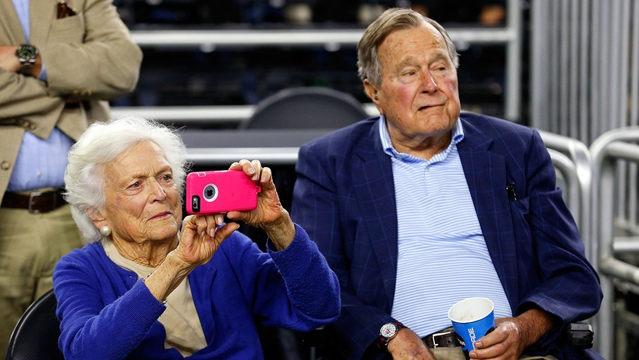 Barbara Bush George HW Bush - Getty - H 2016