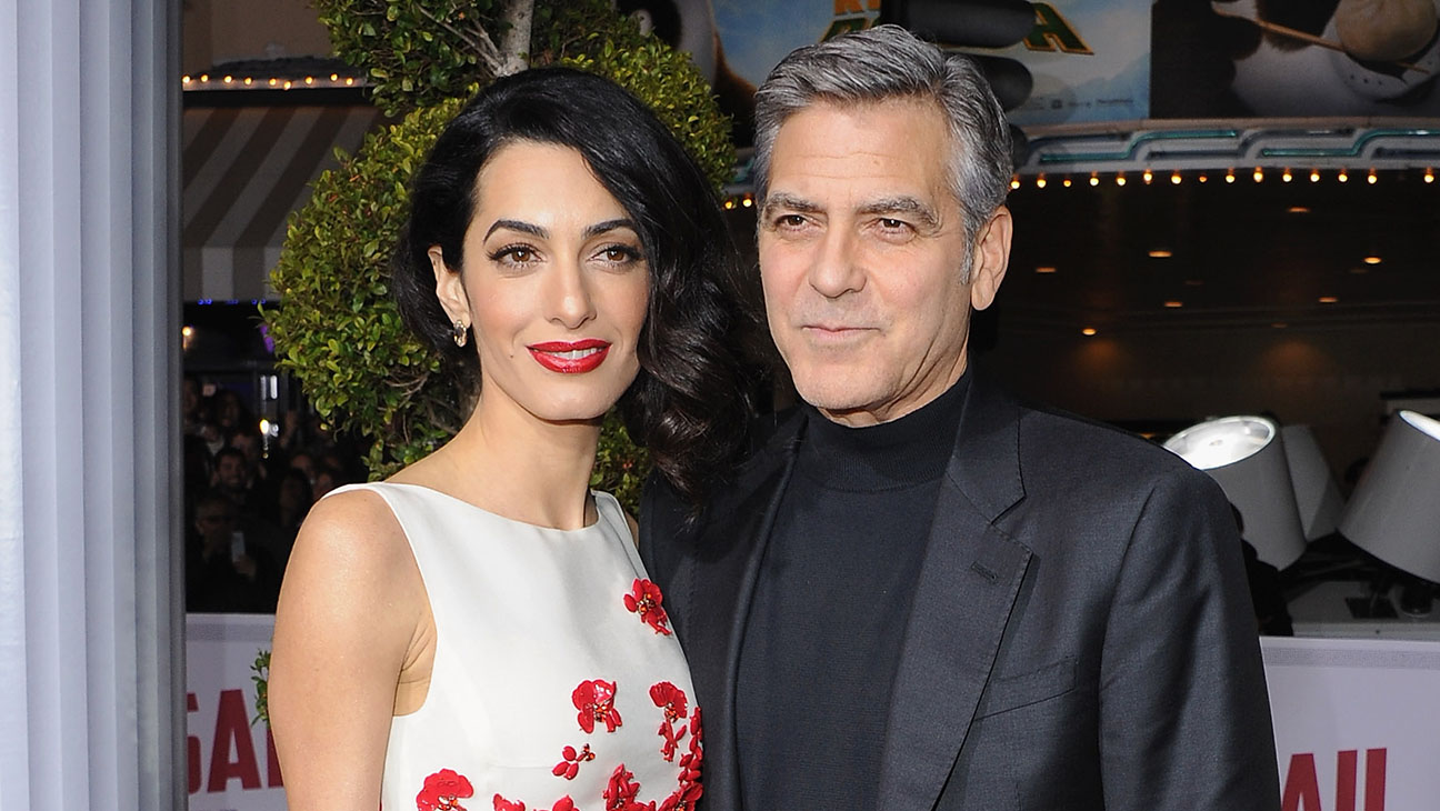 George and Amal Clooney - H 2016