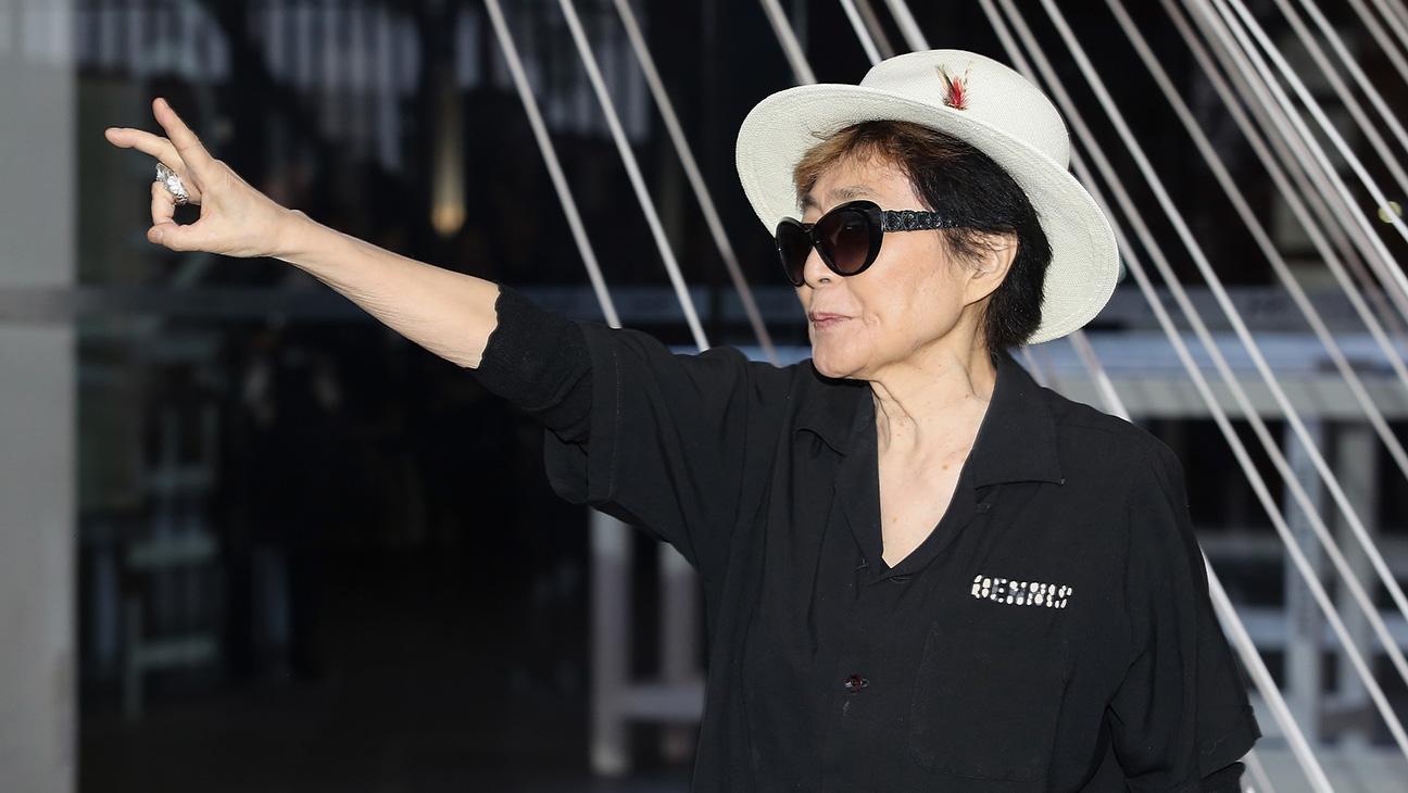 Yoko Ono in Mexico - H 2016