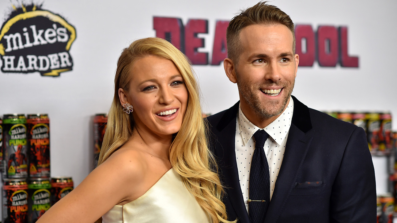 Blake Lively and Ryan Reynolds - H 2016