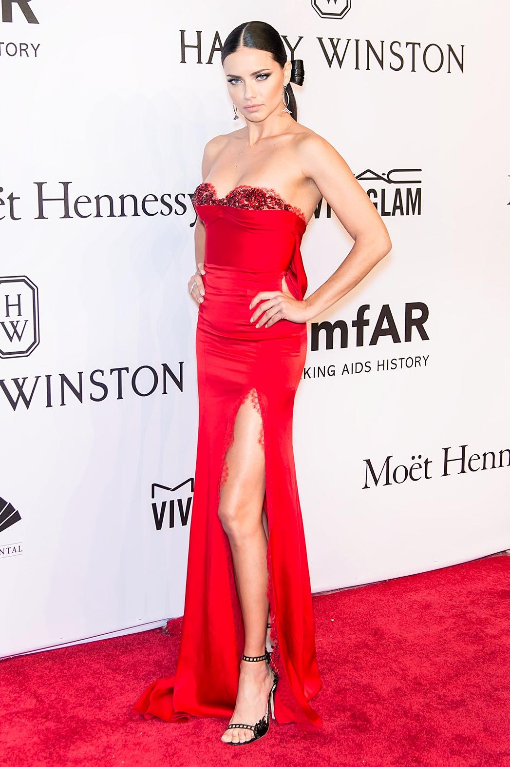 Adriana Lima attends the 2016 amfAR New York Gala - P 2016