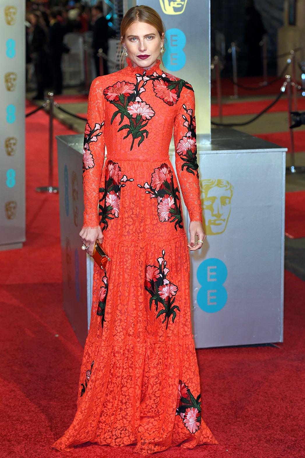 Dree Hemingway attends the EE British Academy Film Award - P 2016
