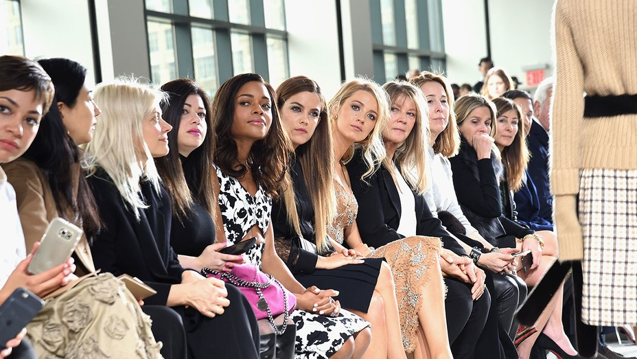 Naomie Harris and Blake Lively at Michael Kors Fall 2016 Show - H 2016