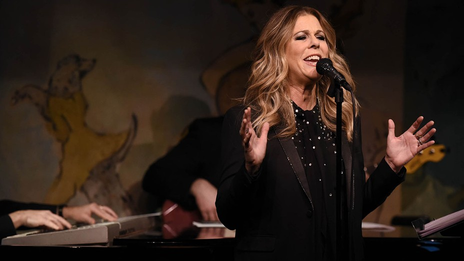 Rita Wilson performs live on stage at Cafe Carlyle -H 2016