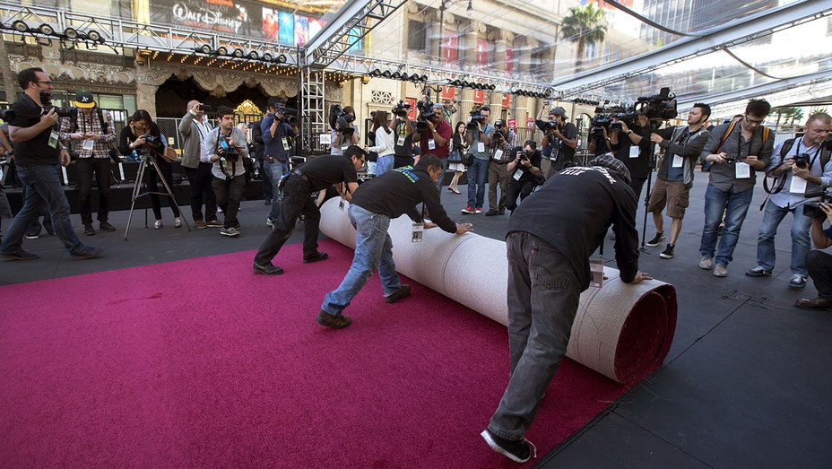 Ceremonial red carpet rollout - 88th Annual Academy Awards  - Getty-H 2016